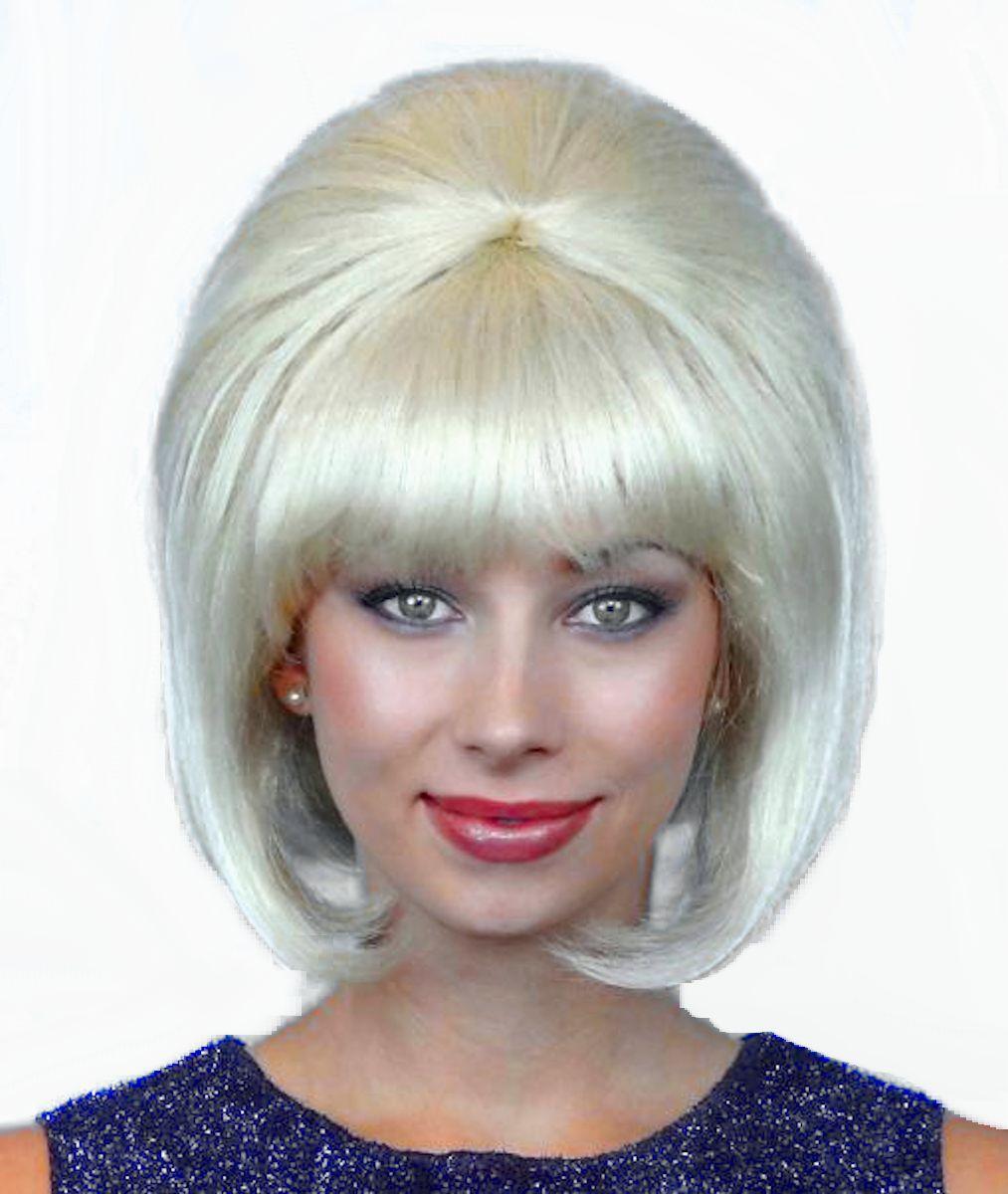 Blonde Beehive Wig Australia 31