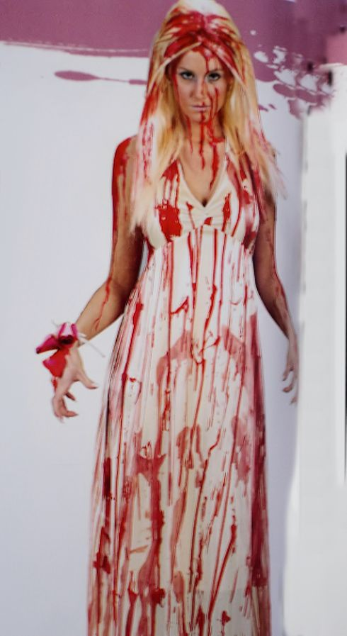 Carrie Prom Queen Nightmare Costume