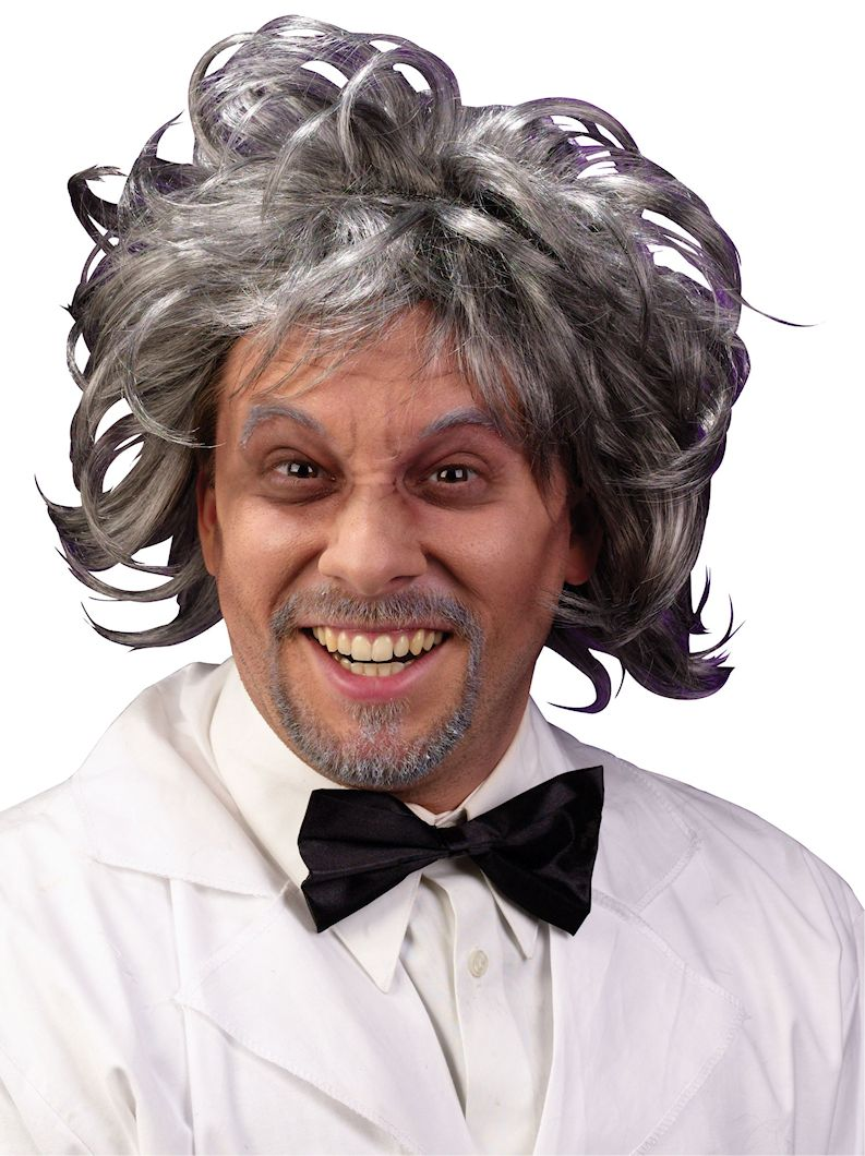 Mad Scientist Costume Party Wig