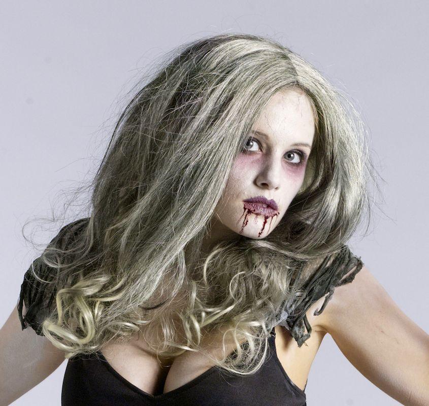 Queen Zombie Costume Wig