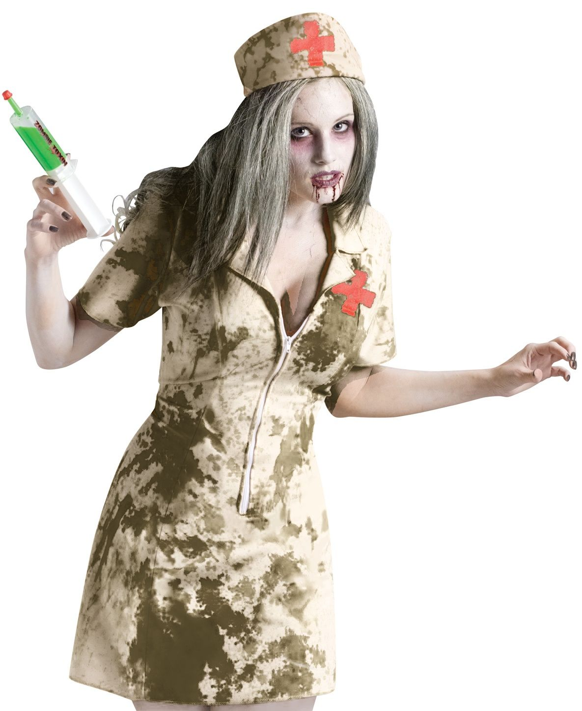 Dirty Nurse Zombie Costume
