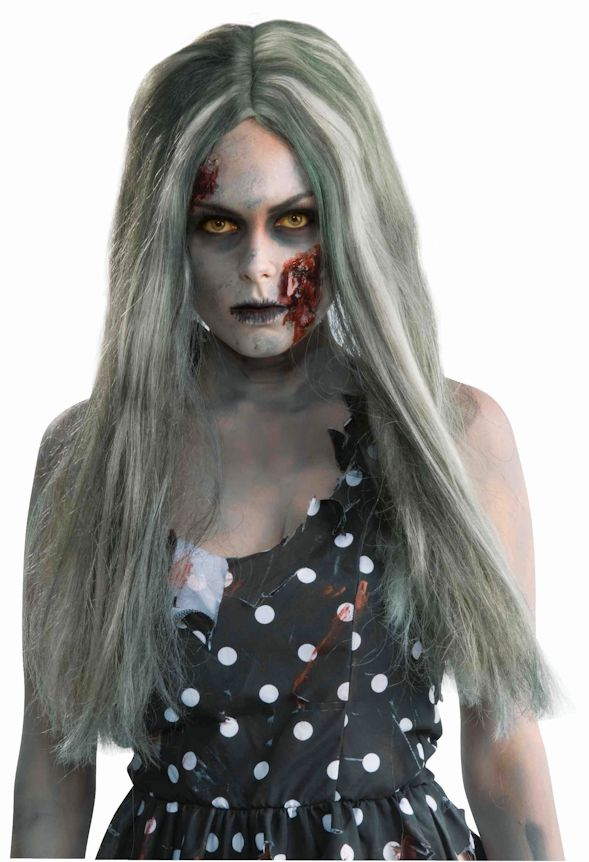 Creepy Zombie Long wig